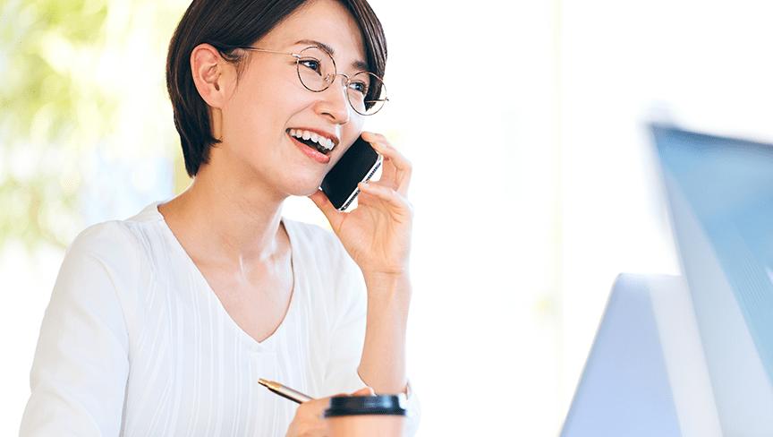 あふれた電話を自動で案内しお客様の信用度を上げます